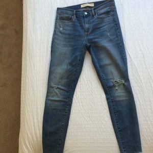 """Blue jean """"true skinny ankle"""""""